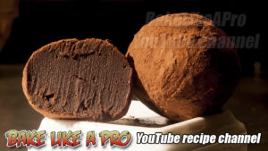 NO FAIL Dark Chocolate Truffles Recipe - BakeLikeAPro
